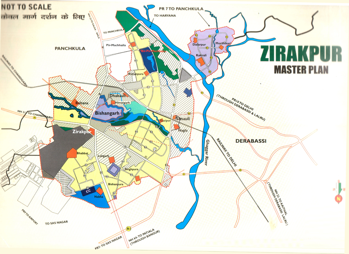 Best Locations for Real Estate Investment Around Chandigarh - Zirakpur