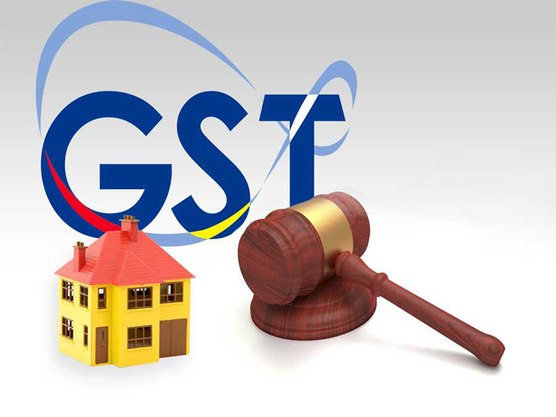 Thect of GST Bill on Real Estate and Home Buyers